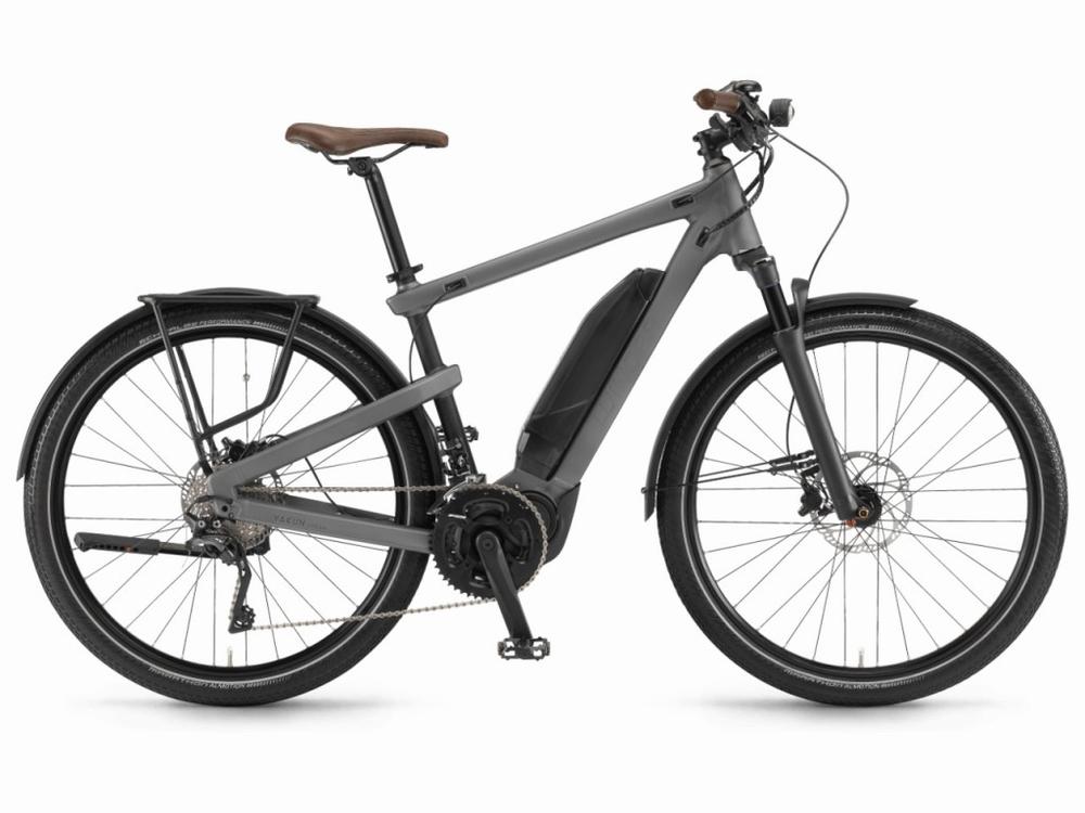 Winora E-Bike Yakun Urban  500wh Gunmetal Zwart  -10%